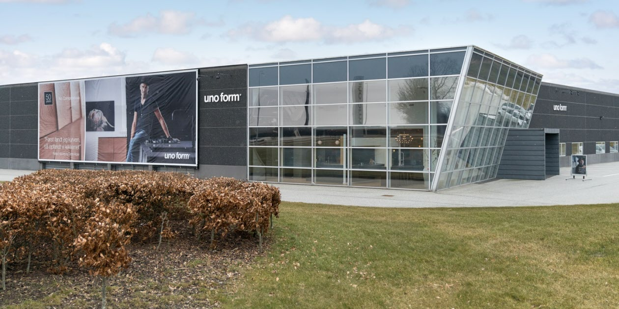Vejle showroom - uno form