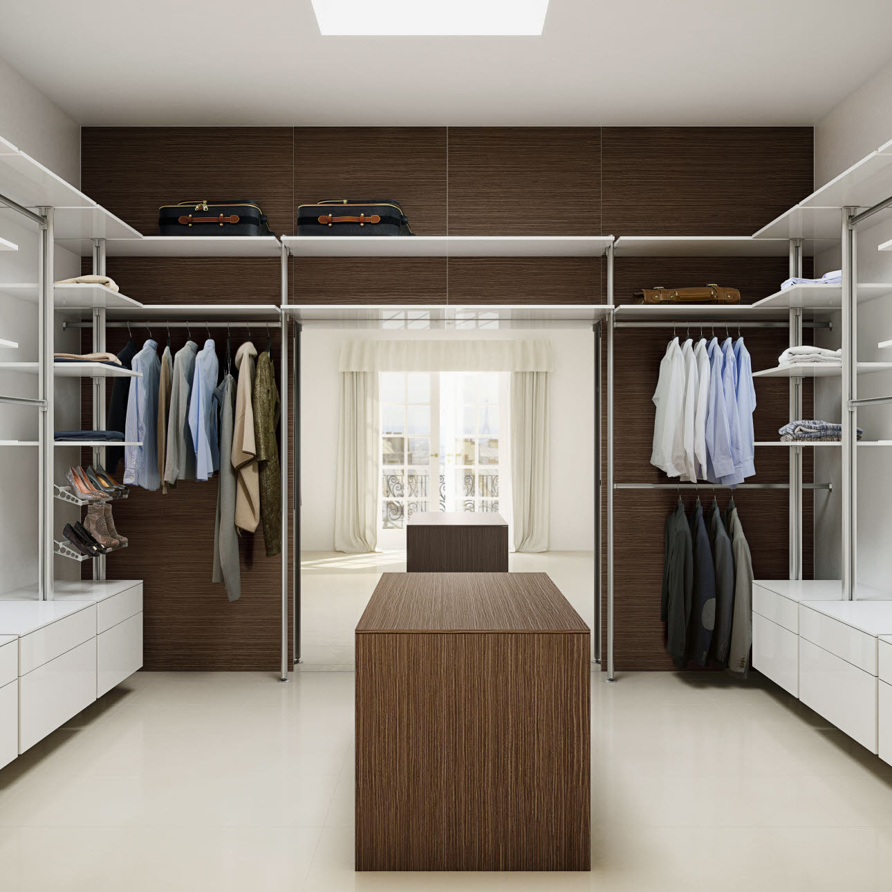Walk in garderobe fra uno form